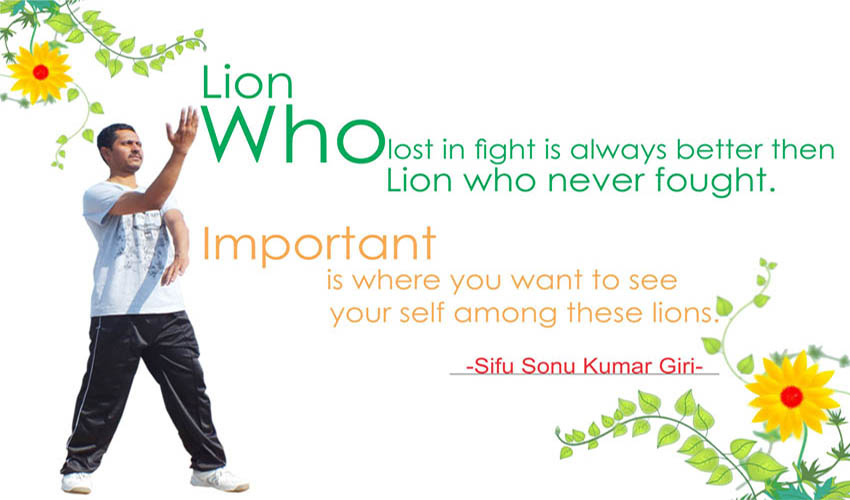 Quote by Sifu Sonu Kumar Giri, Wing Chun India